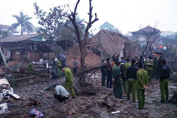 nổ lớn Bắc Ninh