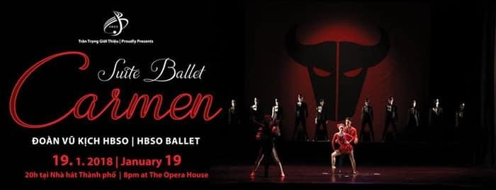 Sài Gòn: Đêm ballet Suite Ballet Carmen