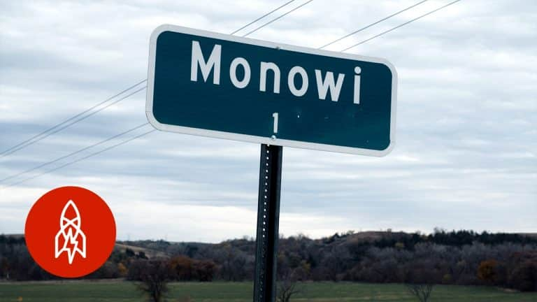Thị trấn Monowi