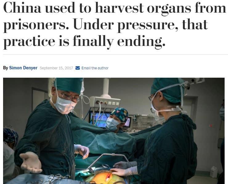 Lợi dụng truyền thông phương Tây, Trung Quốc bao che tội ác phản nhân loại