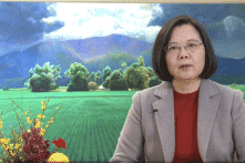 """Đài Loan chúc Tết """"những người bạn"""" ở Trung Quốc"""