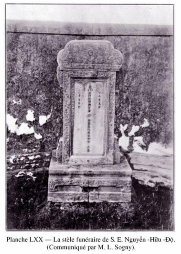 Nguyễn Hữu Độ và gia đình ông