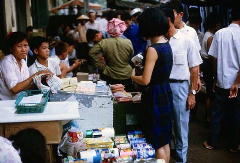 Chợ Trời Saigon trước 75
