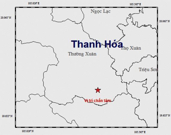 động đất Thanh Hoá