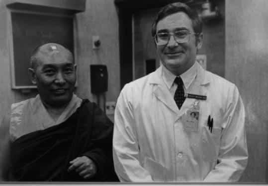 thiền sư Tây Tạng thiền định