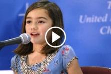 Cô bé 7 tuổi cứu sống hàng triệu trẻ em châu Phi (video)
