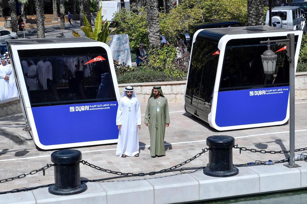Dubai: Hộp vận tải tự động