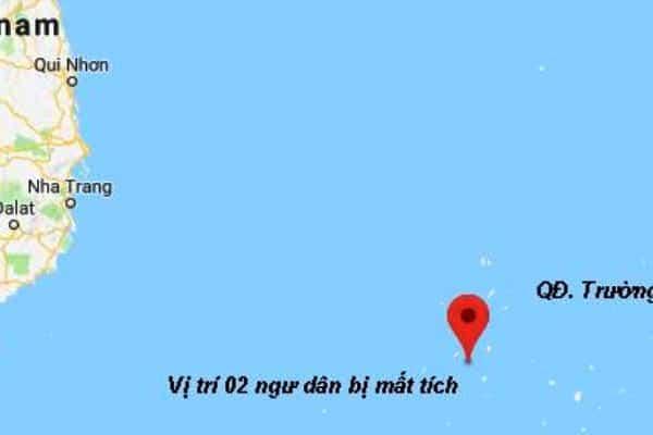 ngư dân mất tích