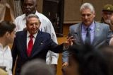 Raul-Castro va Diaz-Canel