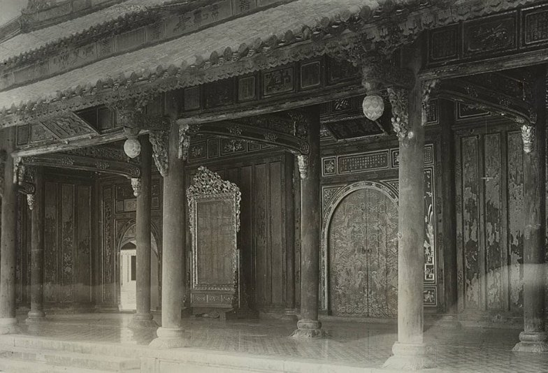 Một số kiến trúc bên trong Hoàng Thành Huế