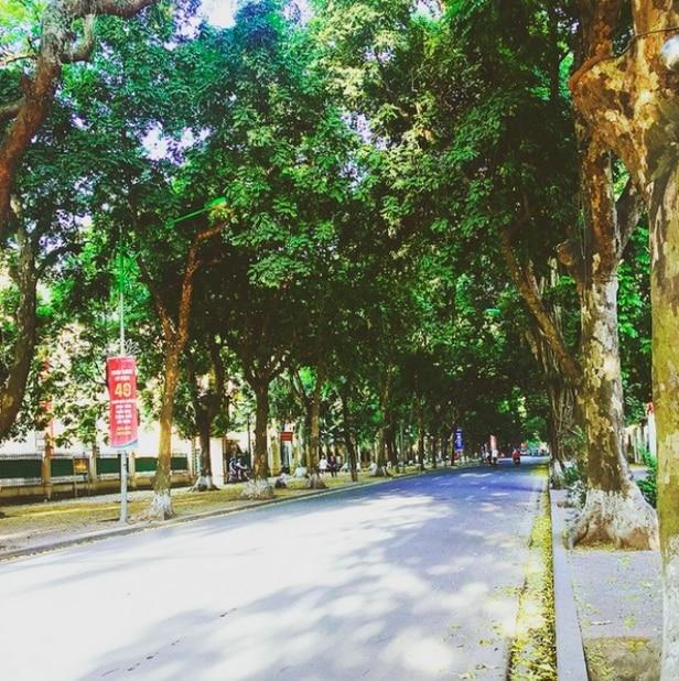 Hà Nôi: mùa hè bình yên đang về
