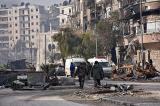 """Nga, Syria cố """"tẩy sạch"""" chất độc hóa học, OPCW chưa thể tới hiện trường"""