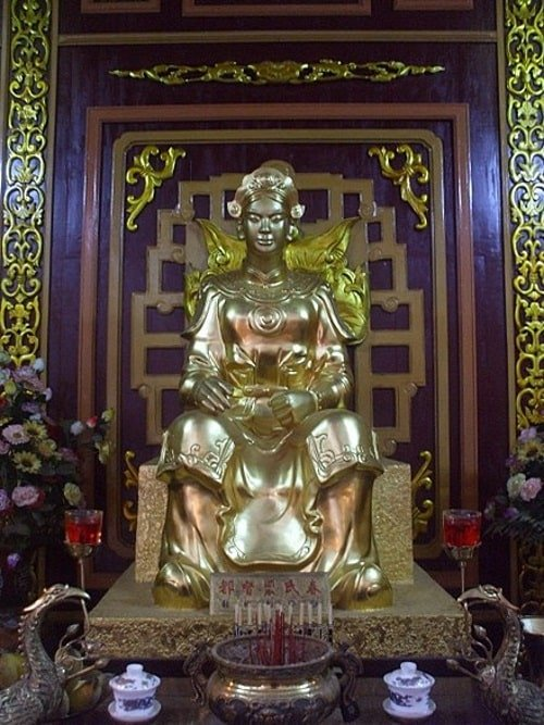 Đôi vợ chồng hào kiệt Trần Quang Diệu và Bùi Thị Xuân.