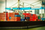 cang bien, container