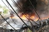 cháy phế liệu