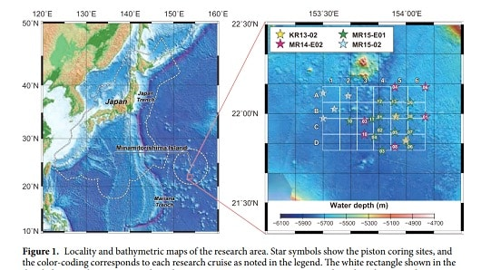 Nhật Bản phát hiện mỏ đất hiếm đủ cho thế giới trong hơn 400 năm