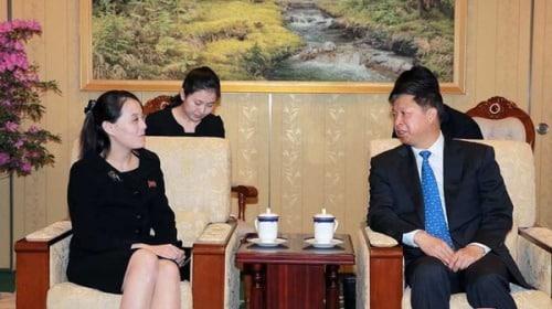 em gái Kim Jong Un