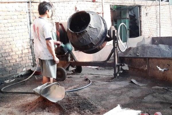 Nguyễn Thị Thanh Loan sản xuất cà phê bẩn