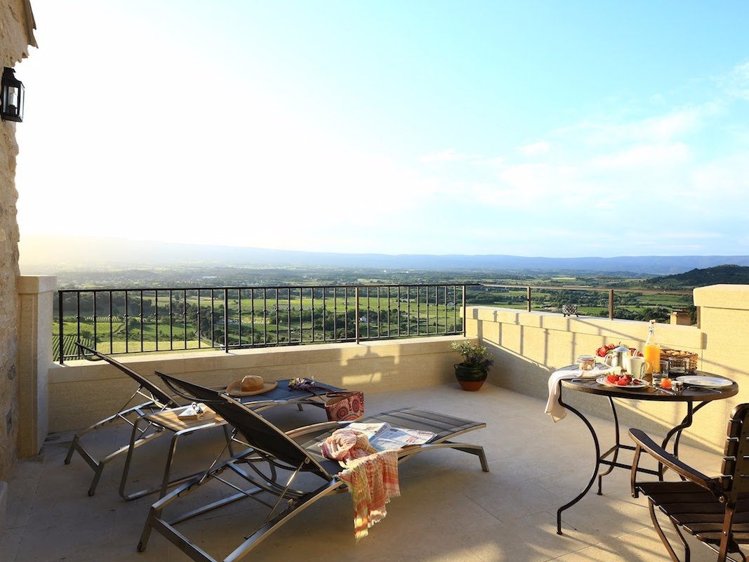 19. Hotel Crillon le Brave — Provence, France. Prioritising the simple pleasures of Provinçal living in its ethos, Hotel Crillon le Brave offers guests a relaxed, simple escape to a rural village surrounded by vineyards and olive groves.