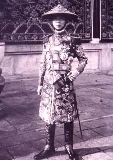 Về thanh kiếm Thái A của vua Gia Long