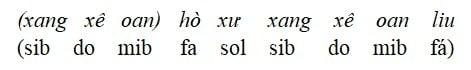 Tìm hiểu thang âm ngũ cung trong âm nhạc Huế - P2