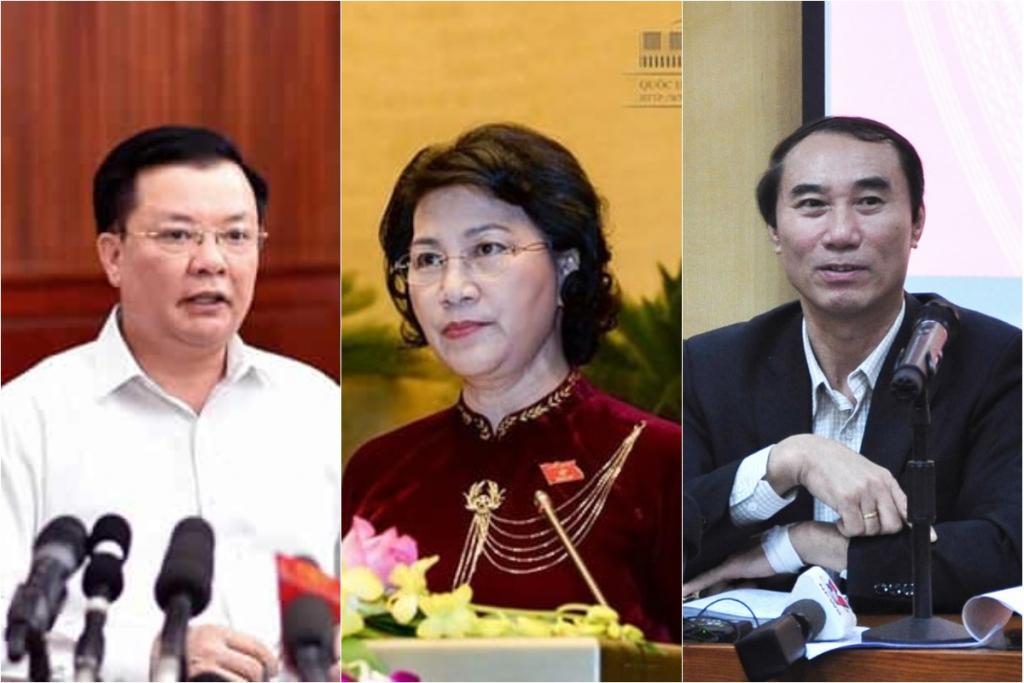 Bo truong Tai chinh, Chu tich Quoc hoi, Tong cuc Thue
