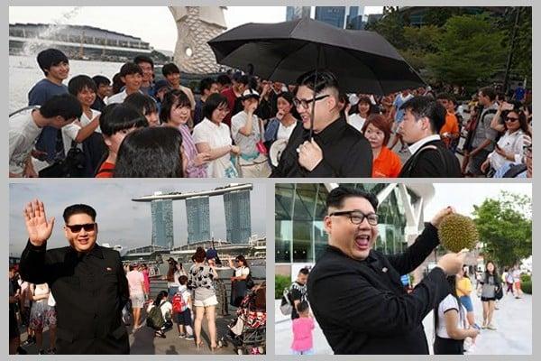 bản sao Kim Jong-un