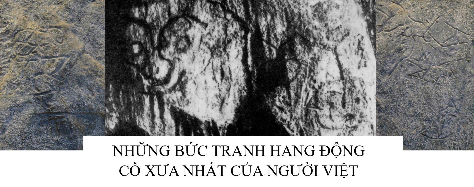 Những bức tranh hang động cổ xưa nhất của người Việt