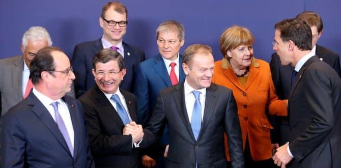Lanh dao cac nuoc EU