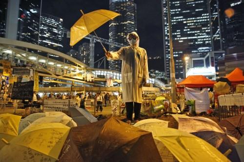 Ôn hòa là điều khiến cuộc biểu tình Ô dù tại Hồng Kông đi vào lịch sử thế giới
