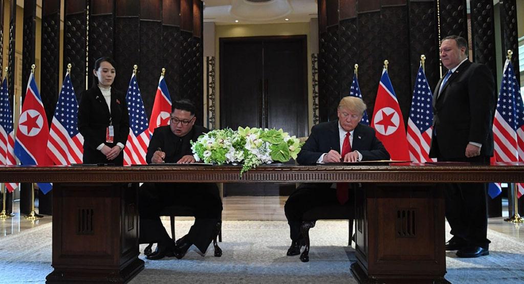Tuyen bo chung Trump-Kim