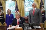 Trump ký lệnh hành pháp để dừng chia tách gia đình nhập cư trái phép