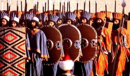 Vua Sparta tình nguyện trở thành quân cảm tử