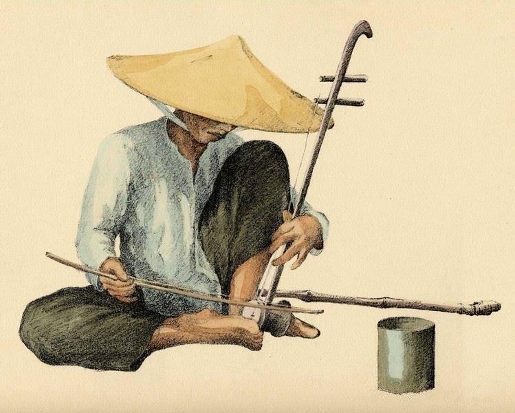 Bộ tranh vẽ đầy hoài niệm về cuộc sống của người Việt thập niên 1930 - ảnh 44