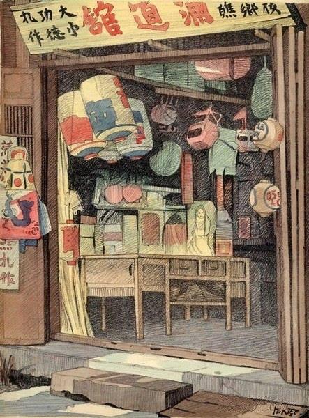Bộ tranh vẽ đầy hoài niệm về cuộc sống của người Việt thập niên 1930 - ảnh 39