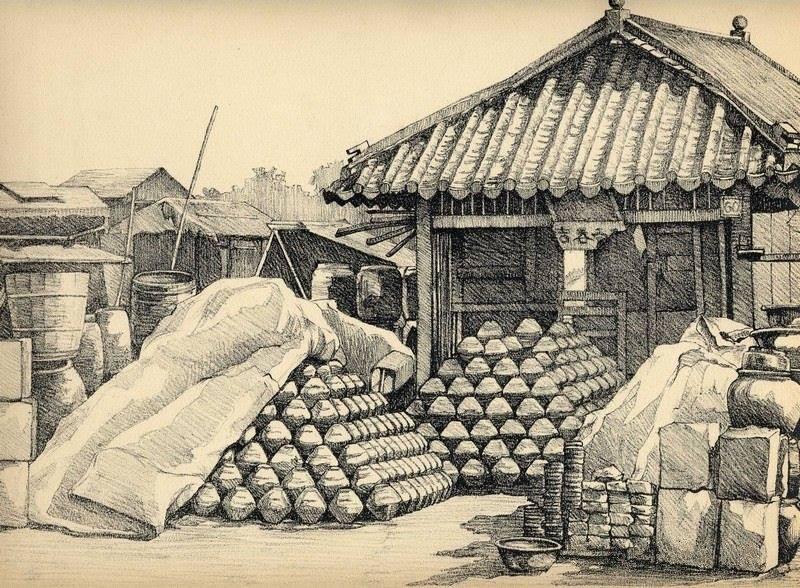 Bộ tranh vẽ đầy hoài niệm về cuộc sống của người Việt thập niên 1930 - ảnh 34