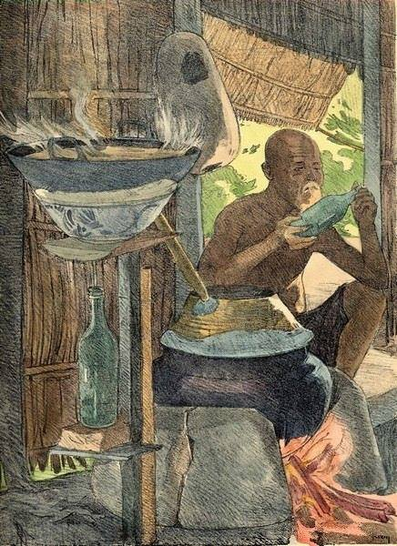 Bộ tranh vẽ đầy hoài niệm về cuộc sống của người Việt thập niên 1930 - ảnh 32