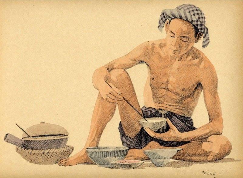 Bộ tranh vẽ đầy hoài niệm về cuộc sống của người Việt thập niên 1930 - ảnh 31