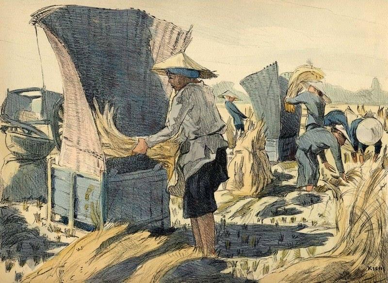 Bộ tranh vẽ đầy hoài niệm về cuộc sống của người Việt thập niên 1930 - ảnh 30