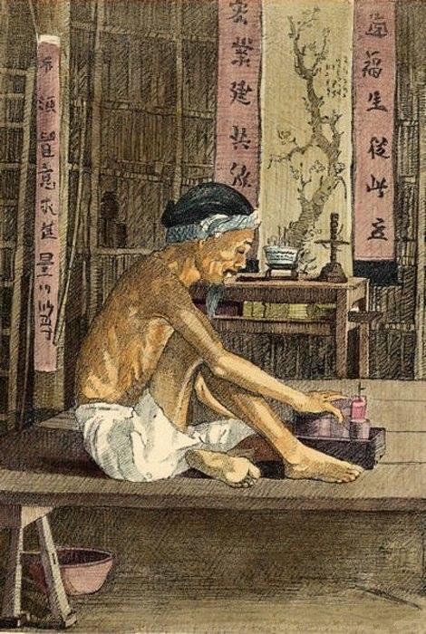 Bộ tranh vẽ đầy hoài niệm về cuộc sống của người Việt thập niên 1930 - ảnh 28