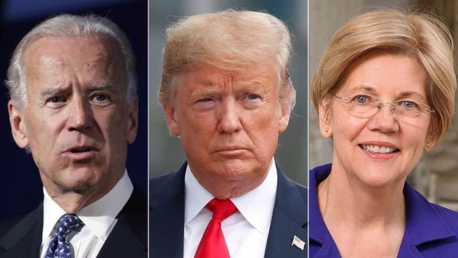 Trump-Biden-Warren