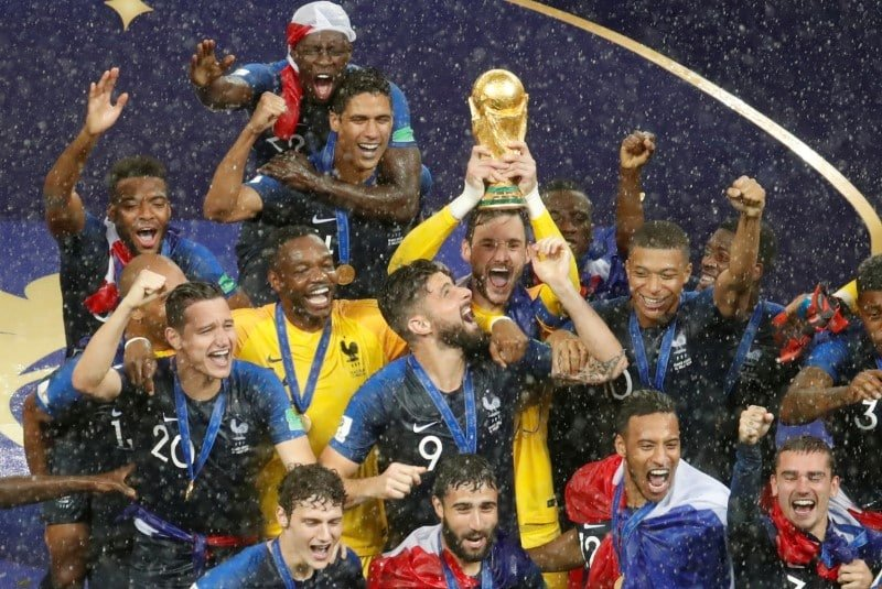 Phap vo dich World Cup 2018