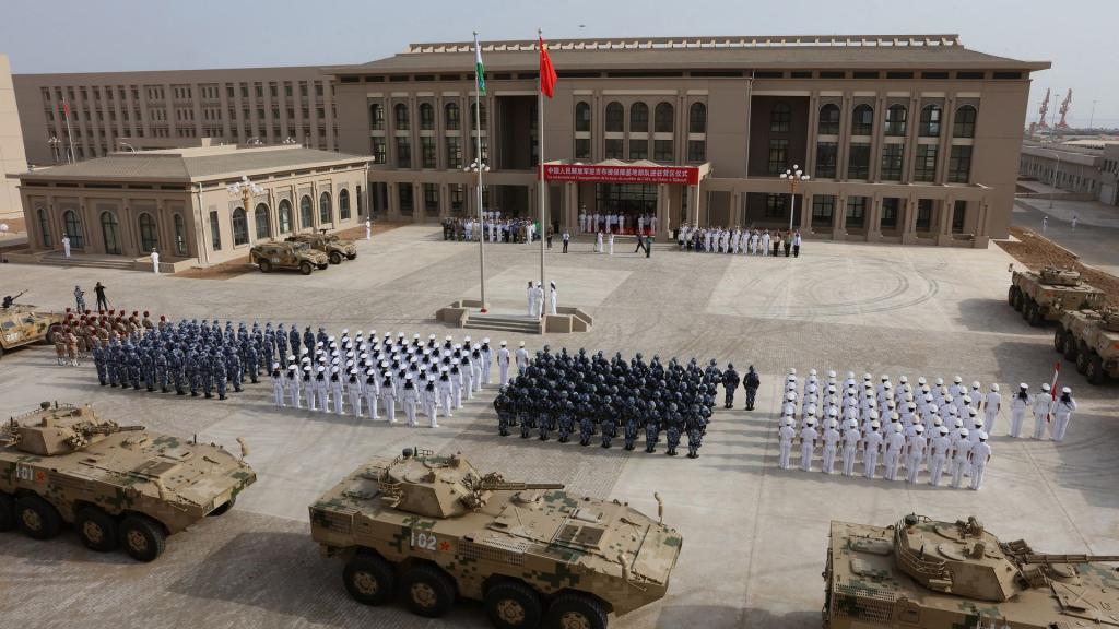Trung Quoc tai Djibouti