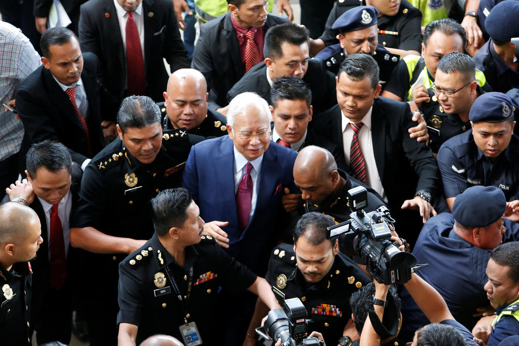 Cuu thu tuong Malaysia hau toa