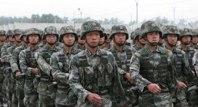quân đội Trung Quốc - nhiễm nCoV