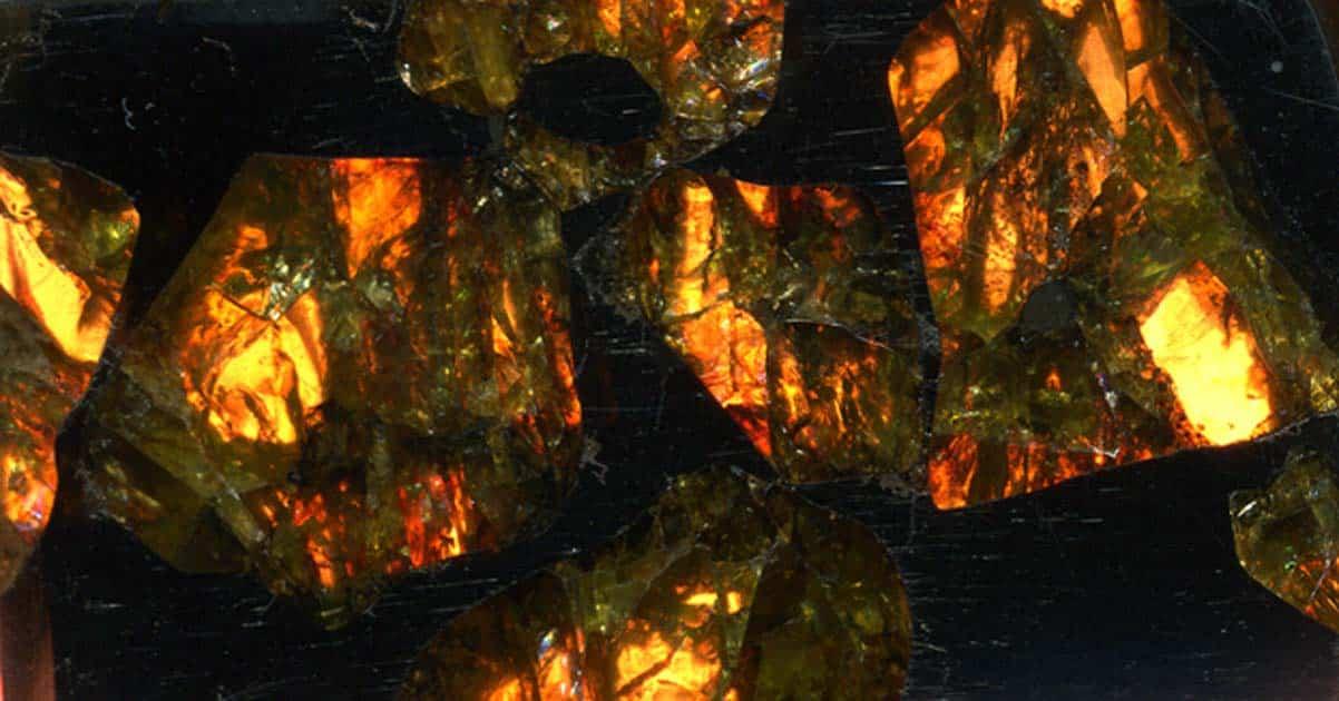 Một mảnh thiên thạch Fukang (ảnh: CC BY 2.0)