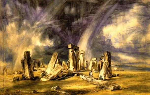 tranh-ve-stonehenge