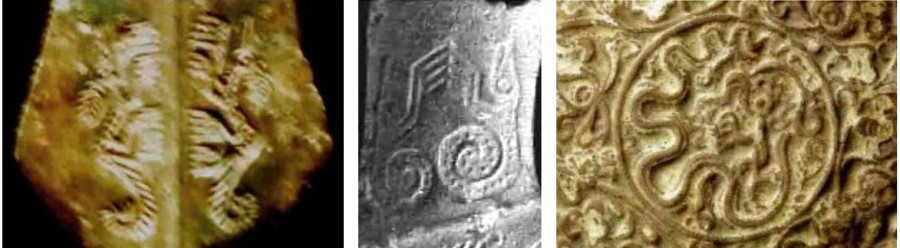 Vài di vật rồng Việt Nam qua các triều đại