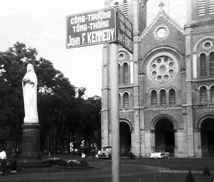 Sài Gòn xưa: Có một công trường mang tên John F. Kennedy