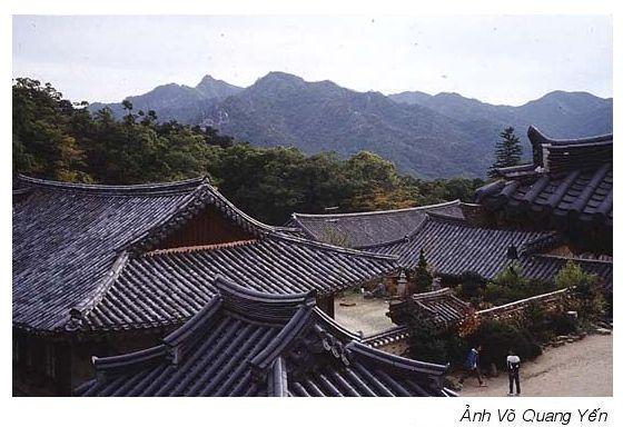 Bộ kinh Tam Tạng ở chùa Haiensa xứ Đại Hàn
